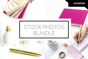 Pink Desktop Photo Bundle (18 pics)