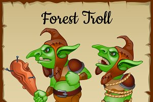 Green forest Trolls