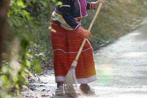 in Thai village