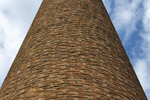 Industrial Brick Chimney