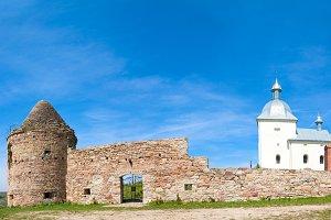 Ancient castle in Ukraine