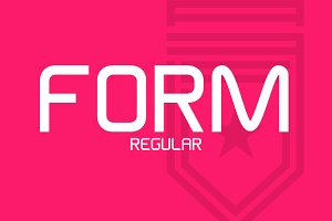 Form Typeface