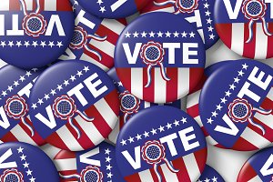 american vote badges