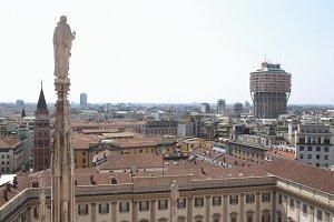 Milan view