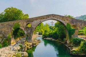 Cangas de Onis bridge