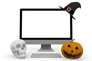 halloweeen computer