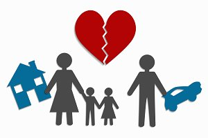 divorce and separation of property