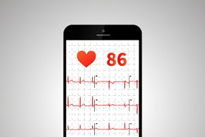 Heart rate monitor application