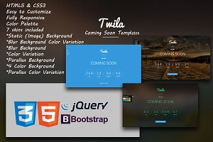 Twila - Coming Soon Template