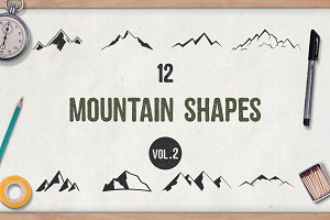 Mountain Shapes Vol.2