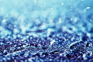 Iced background