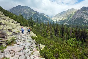 Summer Tatras mountain