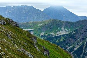 Summer Tatras mountain