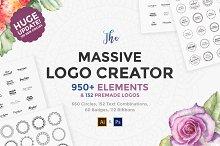 The Massive Logo Creator