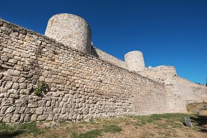 Ancient ruins of Burgos castle