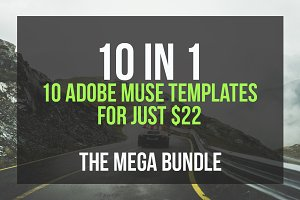 The Mega Bundle - 10 Muse Templates