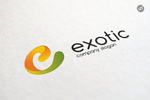 Exotic Logo Template