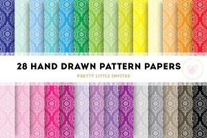 Hand Drawn Pattern Papers