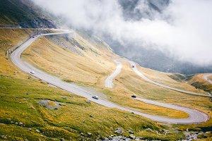 Serpantine mountains