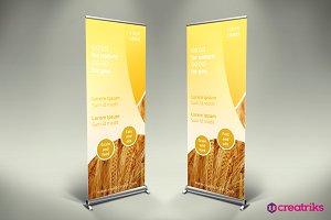 Agriculture Roll Up Banner - v010