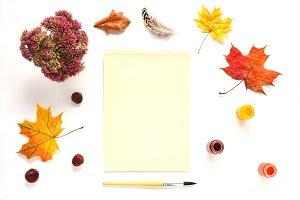 Autumn Art Mock Up