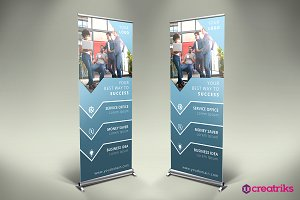 Business Roll Up Banner - v013