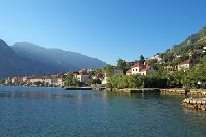 Morning in Prcanj, Montenegro