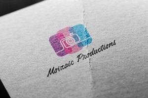 Moizaic Productions Logo Template