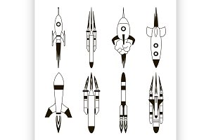 Set of rockets