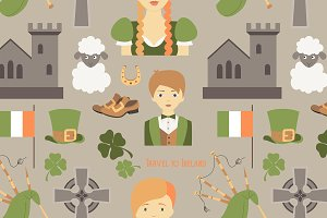Travel to Ireland pattern