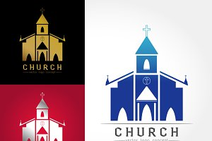 Template logo church