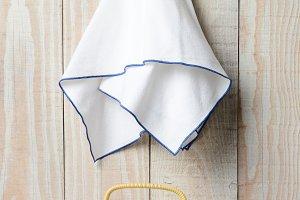 Tea Set and Towel