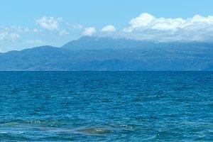 Sea summer view (Greece)