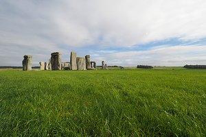 Stonehenge monument in Amesbury