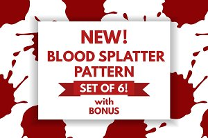 Blood Splatter pattern