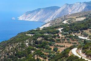 Ionian sea coast, Kefalonia,Greece