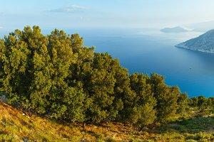 Myrtos Beach (Greece, Kefalonia).