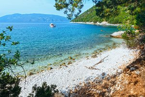 Antisamos beach (Greece,Kefalonia).