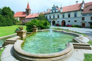 Pruhonicky zamek (Prague, Czech)