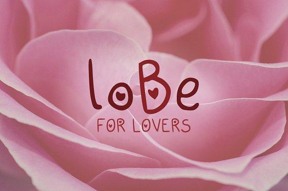loBe Font