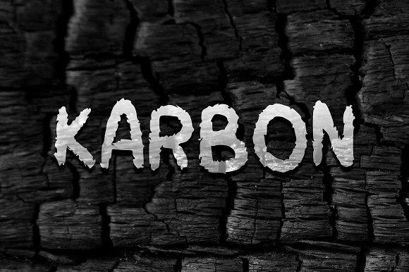 KARBON Font