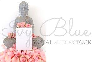 Rocking Rose - Buddha Mockup