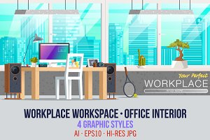 Office Workplace Interior