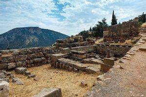 Ancient Delphi city, Greece