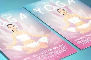 Yoga Flyer Poster
