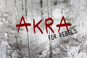 Akra Font