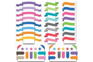 52 Pieces Ribbon Banner
