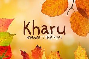 Kharu Font