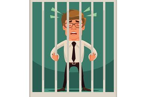 Prisoner businessman character