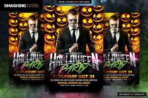 Halloween Madness Flyer